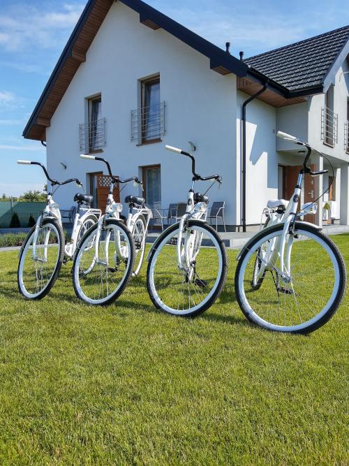 Rowery na placu